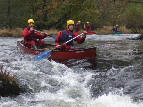 River Wye Canoeing 21 June