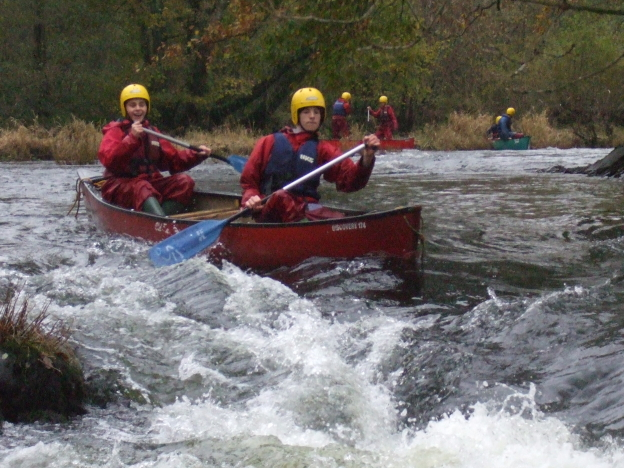 Half Term Canoeing Thursday October 30